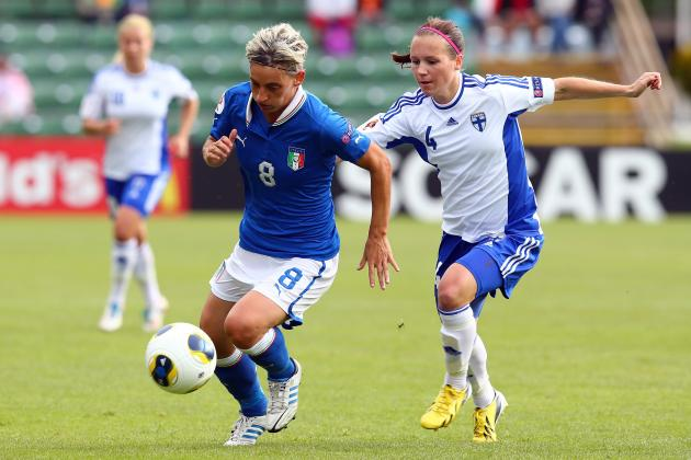 Women's Euro 2013: Italy Sure to Edge out Victory over Denmark