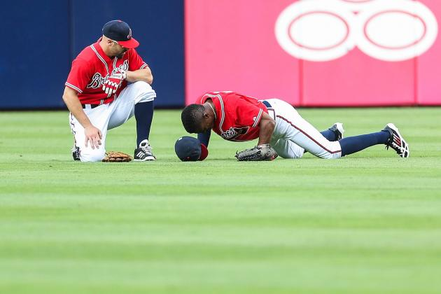 B.J. Upton Strains Right Adductor Muscle Tonight vs. Reds