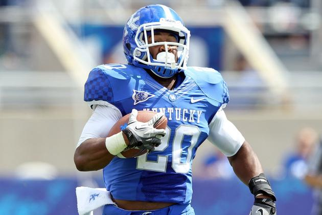 Kentucky Running Back Josh Clemons Injured in Workout