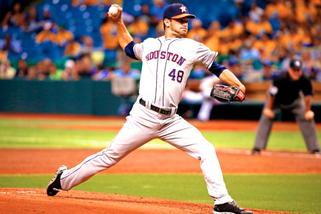 Jarred Cosart's Spectacular MLB Debut Gives Astros Plenty of Hope for Future