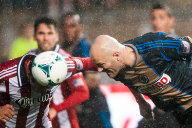UNION OVERCOME EARLY DEFICIT, TERRIBLE WEATHER, to TOP CHIVAS USA