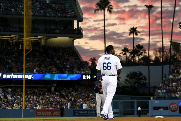 Yasiel Puig (Hip) Exited Due to Precautionary Reasons