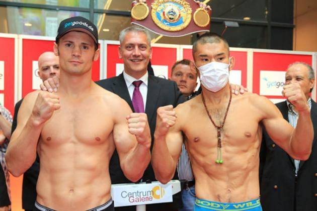 Stieglitz, Kiyota Make Weight