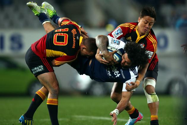 Super 15 Rugby 2013: Biggest Tacklers Left in Showpiece Competition