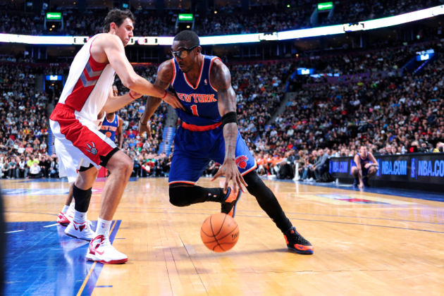 Is Andrea Bargnani or Amar'e Stoudemire Better Sixth Man for the Knicks?