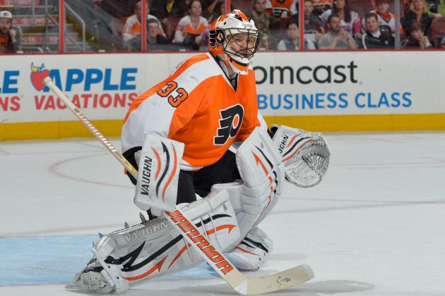 Flyers Goalie Boucher Signs in Switzerland