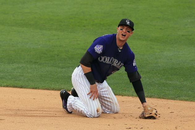 Tulowitzki Out Tonight vs. Dodgers