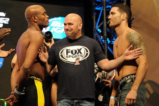 Anderson Silva vs. Chris Weidman Rematch Announced for UFC 168