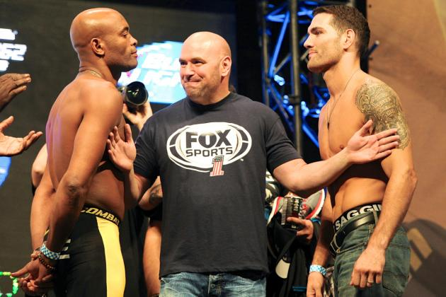 Dana White: Chris Weidman vs. Anderson Silva II Set for December 28 in Las Vegas