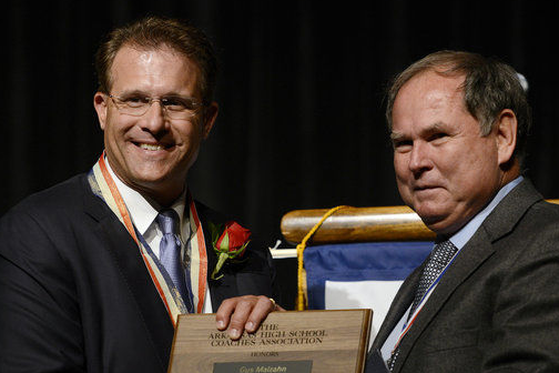 Malzahn Returns to Arkansas to Be Inducted into Coaches' Hall of Fame