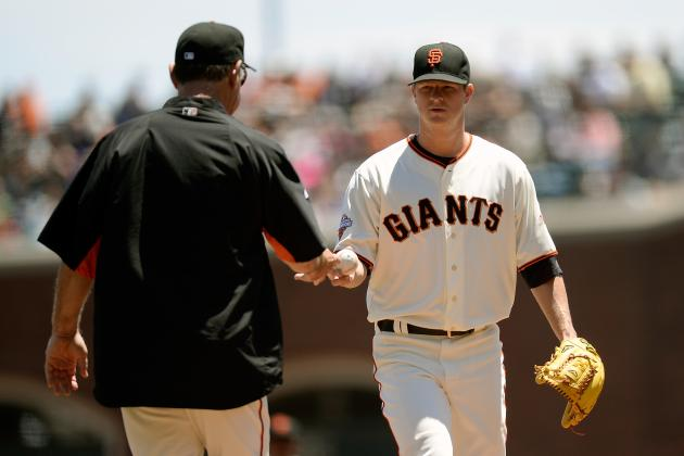 Breaking Down Why Matt Cain of the San Francisco Giants Is Struggling