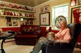 Former FSU Equipment Manager Collects Seminole Memorabilia