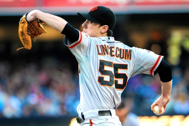 Tim Lincecum Throws No-Hitter vs. San Diego Padres