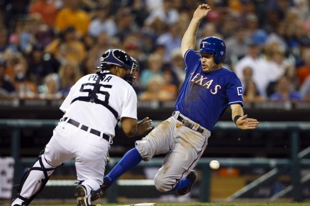 Rangers Send Tigers' Max Scherzer to First Loss