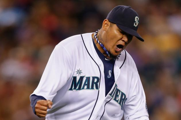 Mariners' Felix Hernandez Outdoes Angels' Jered Weaver in 6-0 Victory