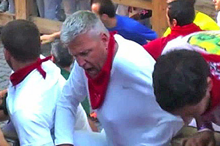 Running with the Bulls Stunt Magnifies How NY Jets' Rex Ryan Is Made for TV