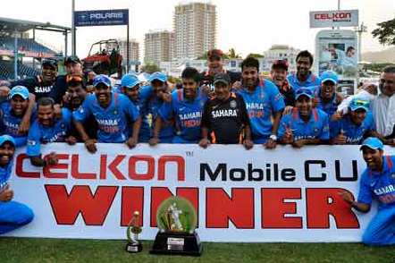 Indian Cricketers Return Home After Twin Triumphs