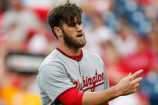 Bryce Harper Leading Off, Anthony Rendon in Lineup Today vs. Marlins