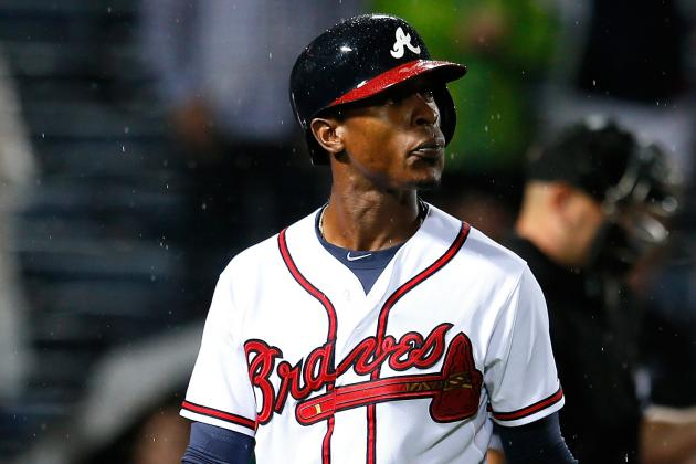 Braves Place B.J. Upton on DL Due to Adductor Strain