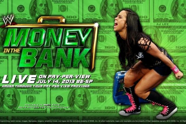 WWE Money in the Bank 2013: Complete Preview to Entire Fight Card
