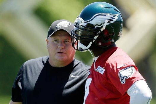 Kelly Will Make Michael Vick Earn His Starting Job with Eagles
