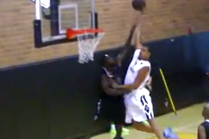 JaVale McGee Dunks All over Poor Guy at Drew League (VIDEO)