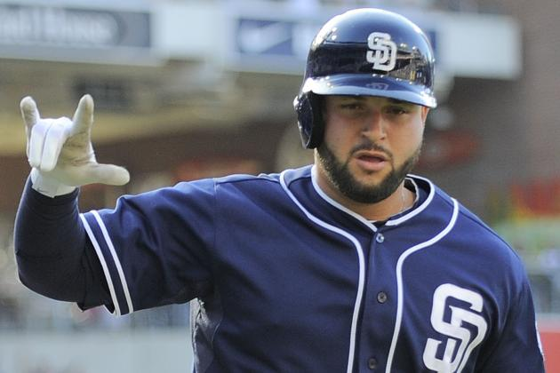 Yonder Alonso out of Lineup for Today's Series Finale vs. Giants