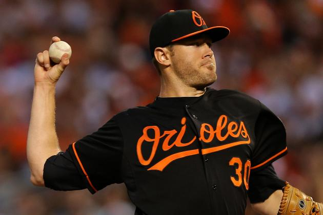 Chris Tillman to Replace Justin Verlander on AL All-Star Team