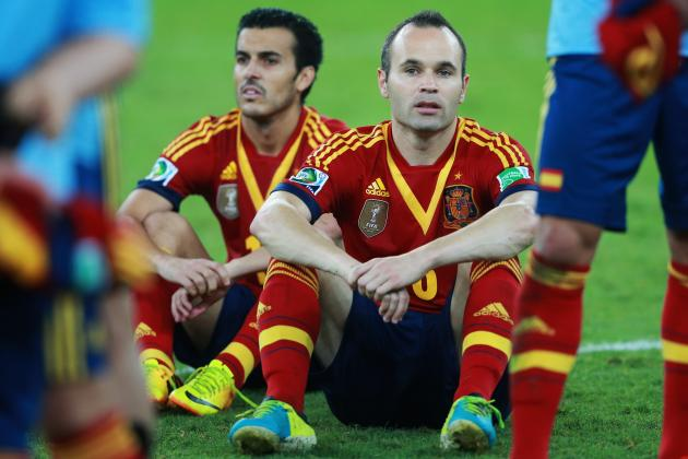 Spain: Why La Roja Will Come Back Strong After Brazil Loss in Confederations Cup