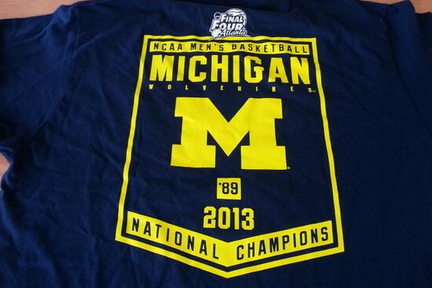 This Michigan National Championship T-Shirt Will Sadden Any Wolverines Fan