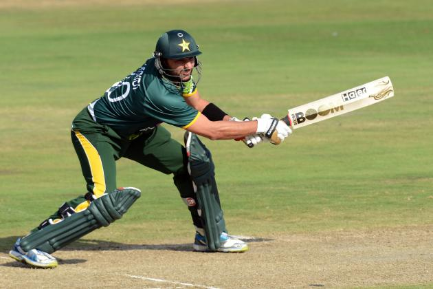 All-Round Afridi Sizzles in WI Demolition
