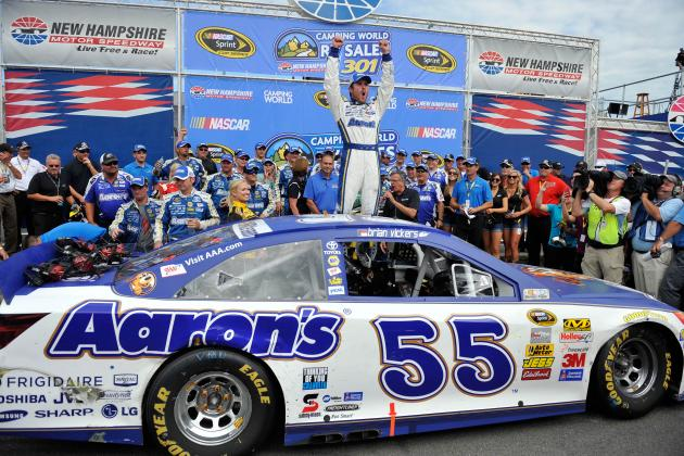 Will Win at New Hampshire Land Brian Vickers Full-Time Sprint Cup Series Ride?