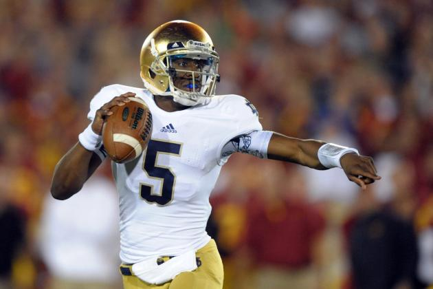 Notre Dame Football: Will Everett Golson Win the Starting QB Job in 2014?