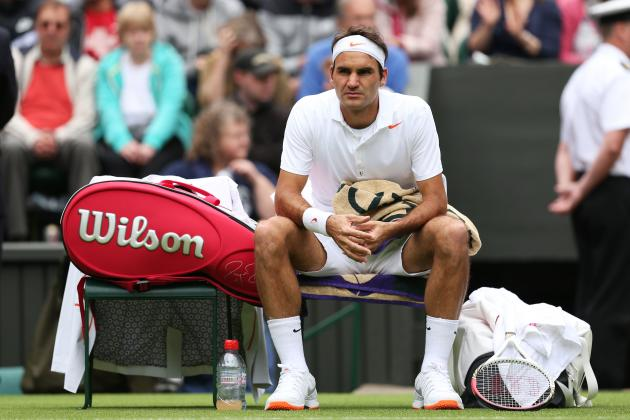 Will Roger Federer's Wimbledon Struggles Carry over to US Hard Court Season?