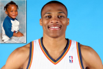 NBA Stars' Childhood Photos