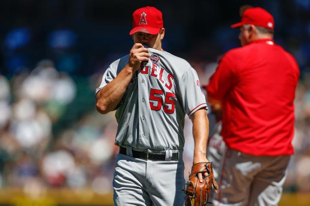 Joe Blanton and Pitching Coach Mike Butcher Had a Heated Exchange