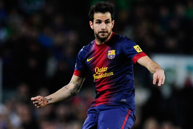 Manchester United Transfer Rumours: Adding Cesc Fabregas Would Be Dream Scenario
