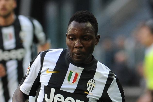 New Juve Trio Delight Asamoah