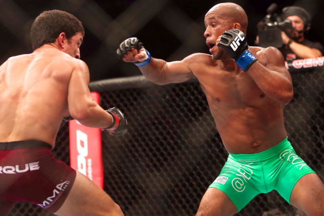 Demetrious Johnson, Cub Swanson and the Stepping Right Hook