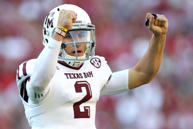 SEC Football: McCarron and Manziel Anticipate 'Exciting' Encounter on Sept. 14