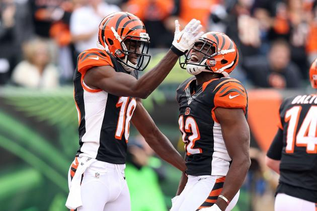 Analyzing the Bengals' WRs