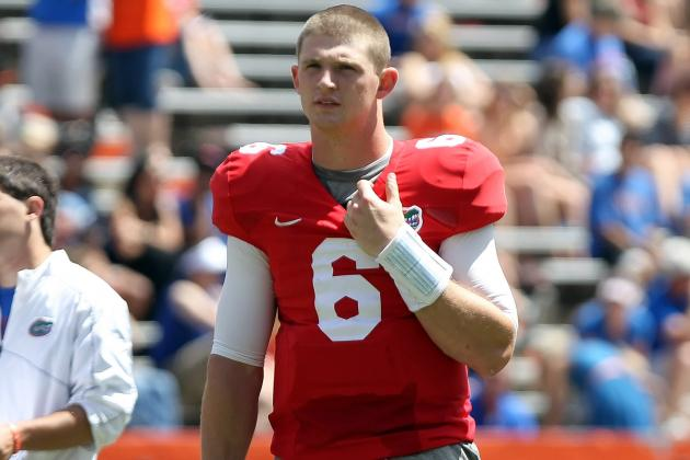 Driskel Shows off Skills at Manning Camp