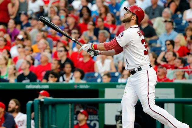 Harper Taps Father for Home Run Derby Toss