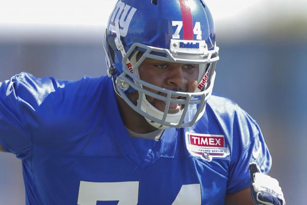 New York Giants' Johnathan Hankins: 'Run Stopping Is My Specialty'