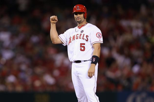 Angels Slugger Albert Pujols Reticent to Talk About Joining 500 Club