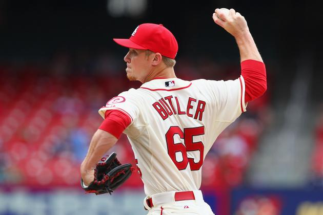 Cardinals Option RHP Keith Butler to Triple-A