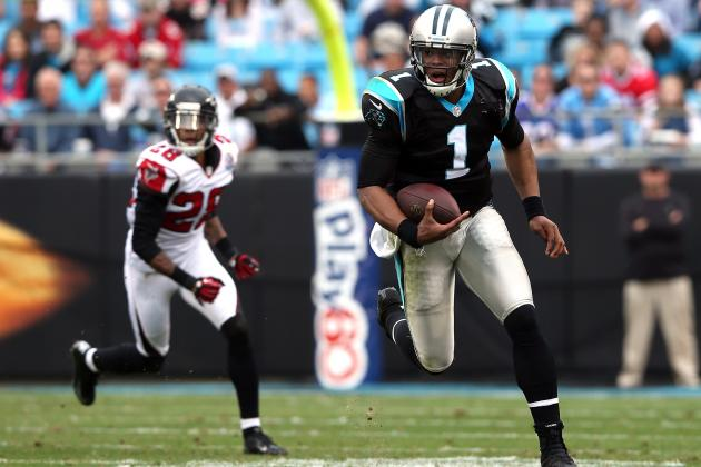 Newton: 'I'm a Falcons Fan' Except When They Play Panthers