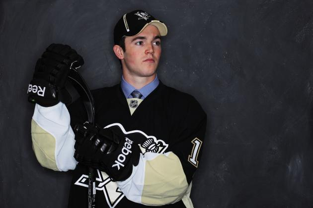 Penguins Prospect Harrington Has High Hopes