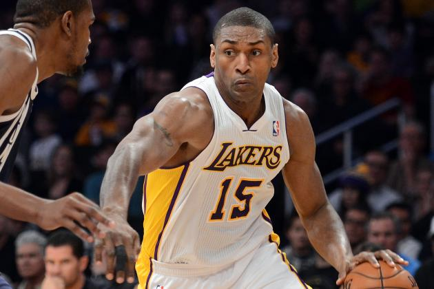 Report: Metta World Peace, Knicks Agree to 2-Year Deal