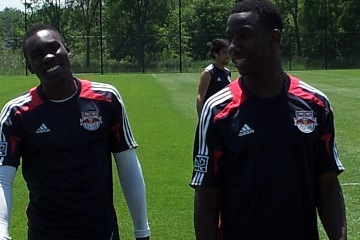 Trialist Wright-Phillips Trains with Red Bulls